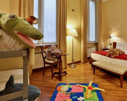 The room suitable for the whole family in the center of Genoa