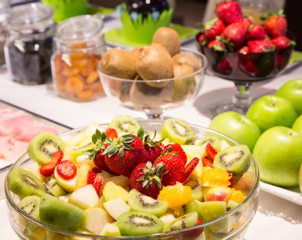 Best Western hotel Metropoli: fresh fruit in the breakfast buffet