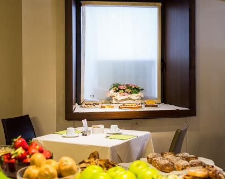 Rich buffet breakfast 3 star hotel Genoa - Best Western Hotel Metropoli