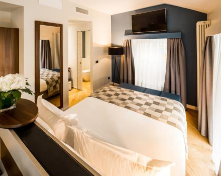 Comfortable and spacious bed in Superior Room - Best Western Hotel Metropoli